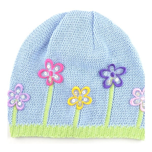 Dievčenská čapica Lacka, modrá