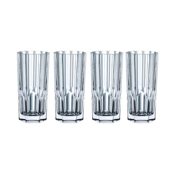Sada 4 pohárov z krištáľového skla Nachtmann Aspen, 309 ml