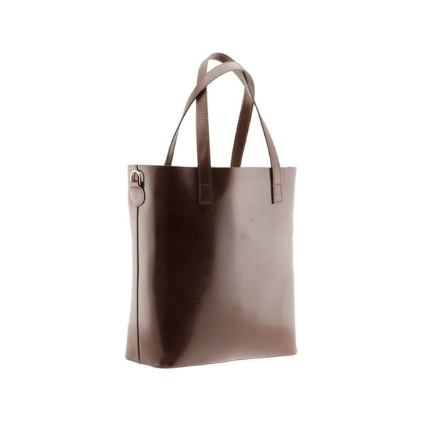 Kožená kabelka Markese 8768 Brown