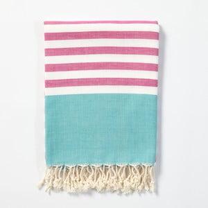 Hammam osuška z ručne tkanej bavlny ZFK Reinert, 170 x 100 cm