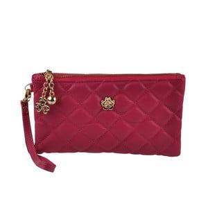 Listová kabelka  Tolone Red Pink