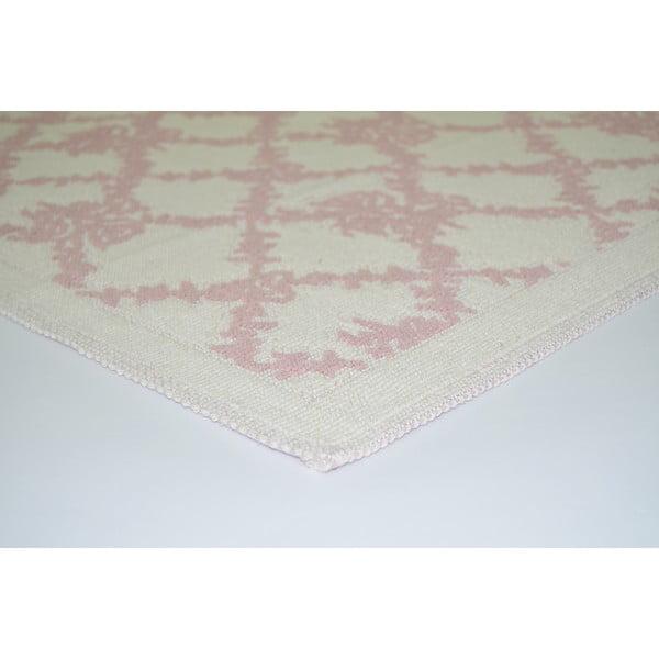 Púdrovoružový odolný koberec Vitaus Scarlett, 80x150cm