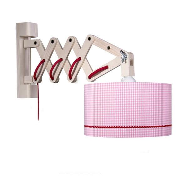Nástenné svietidlo Pink Zickack