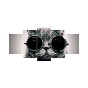 Viacdielny obraz Black&White no. 59, 100 x 50 cm