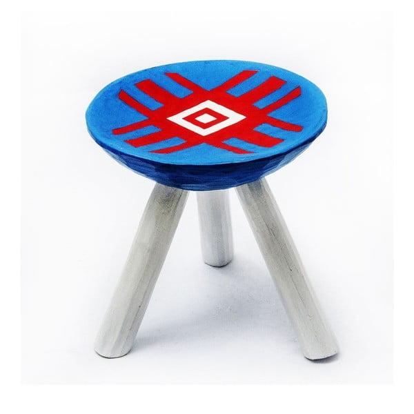 Sada 2 ručne maľovaných stoliček Alma