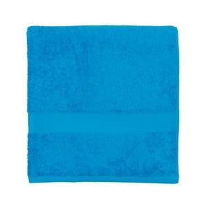 Modrá froté osuška Walra Frottier, 70×140 cm