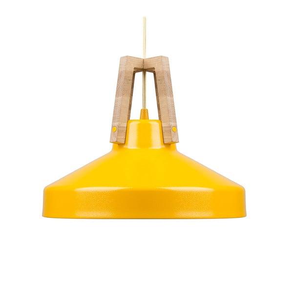 Žlté stropné svetlo Loft You Work, 33 cm
