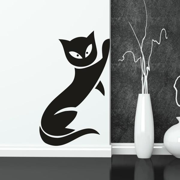 Samolepka na stenu Mačka, pravá strana