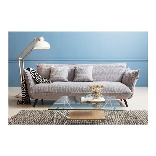 Sivá pohovka pre 3 Kare Design Molly