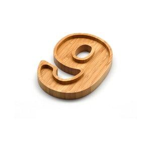 Bambusový servírovací tanierik Bambum Numero Nine