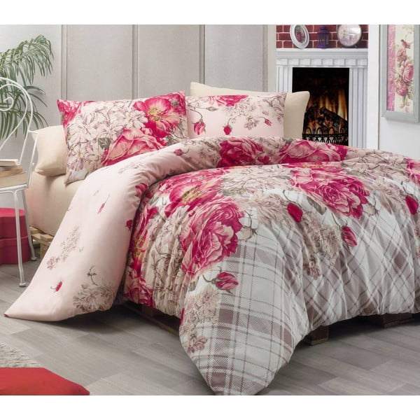 Obliečky Rose Kirmizi Red, 200x220 cm