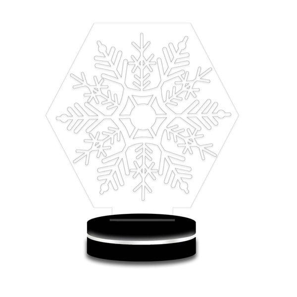 Lampa s 3D efektom Christmas no. 8