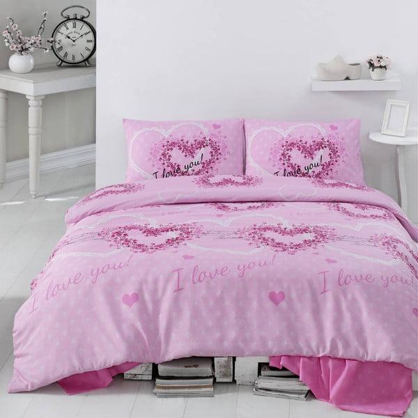 Obliečky Sueno Pink, 200x220 cm