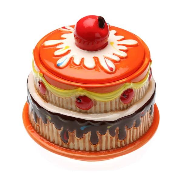 Nádoba v tvare torty Orange Cake
