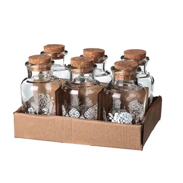 Sada 6 fľaštičiek Ornaments