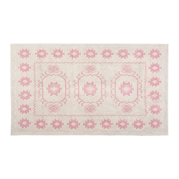 Bavlnený koberec Oni 120x180 cm, púdrový