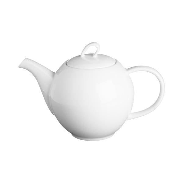 Biela čajová kanvica Price & Kensington Simplicity, 500 ml