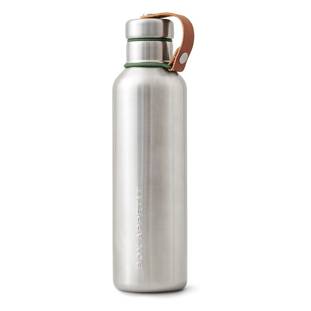 Olivovozelená dvojstenná antikoro termofľaša Black  Blum Insulated Vacuum Bottle 750 ml