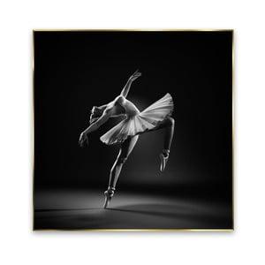 Obraz Styler Black Ballerina, 71 x 71 cm