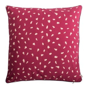 Červený vankúš z čistej bavlny HARTÔ, 50×50 cm