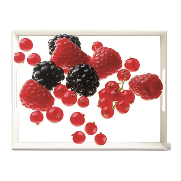 Podnos Classic Berries, 40x31 cm