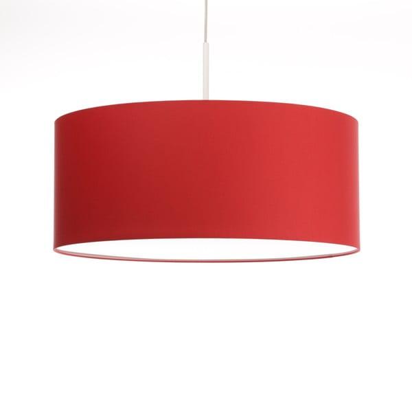 Červené stropné svetlo 4room Artist, variabilná dĺžka, Ø 60 cm