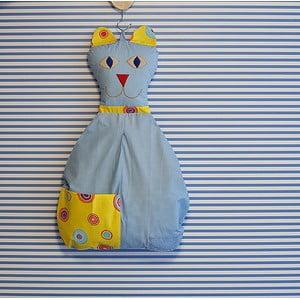 Závesná taška Mačička, svetlomodrá
