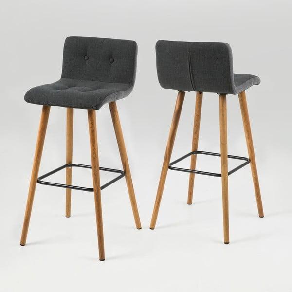 Barová stolička  Frida, sivá