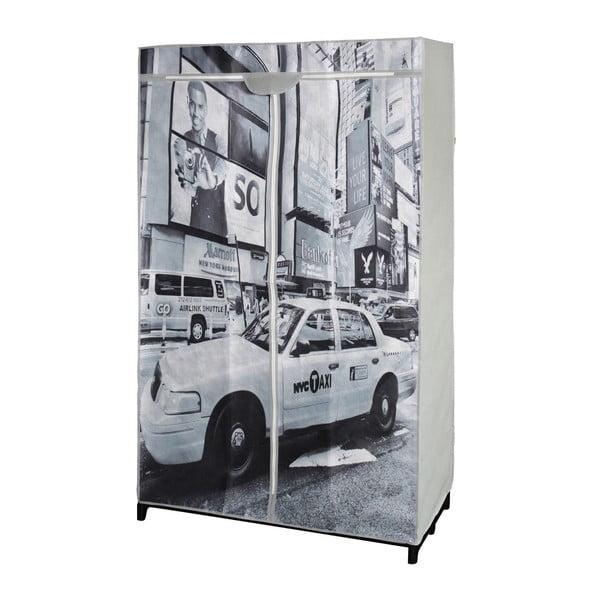 Textilná skriňa na šaty New York Taxi
