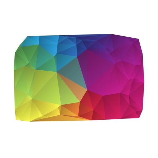 Koberec z vinylu Origami Multicolor, 99x150 cm