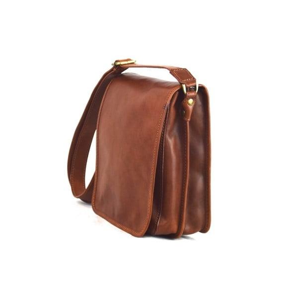 Kožená taška Santo Croce 8803 Brown