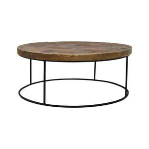 Konferenčný stolík s doskou z teakového dreva HSM Collection Mosaic
