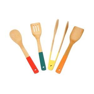 Sada 4 bambusových ručných nástrojov Dexam SOW Bamboo