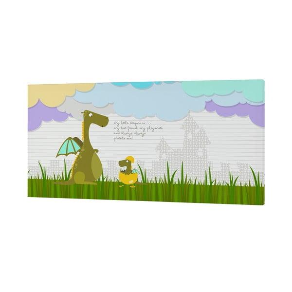 Nástenný obrázok Dragon Art, 27x54 cm