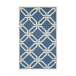Vlnený koberec  Safavieh Mollie Water, 91x152 cm
