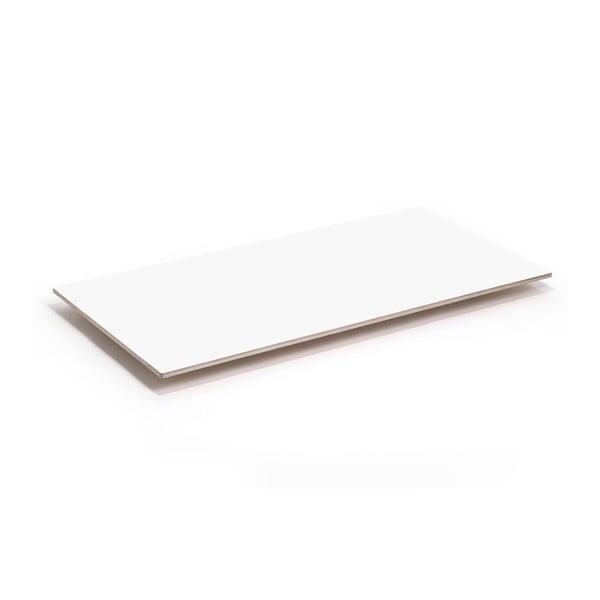 Doska stolu Flat - biela, 150x75 cm