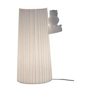 Biela stolová lampa Opjet Paris Owl