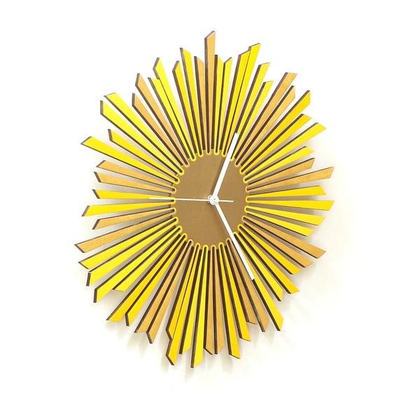 Drevené hodiny The Sun, 41 cm