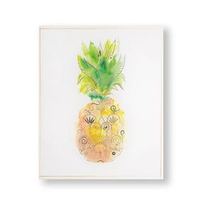 Obraz Graham & Brown Pineapple Tropics, 40 × 50 cm