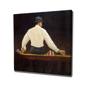Nástenný obraz na plátne Player, 45 × 45 cm