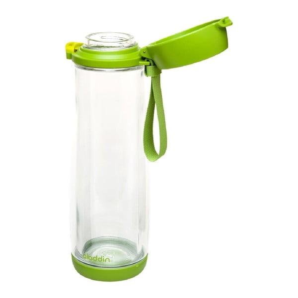 Sklenená fľaša Aladdin 0.53 l, zelená