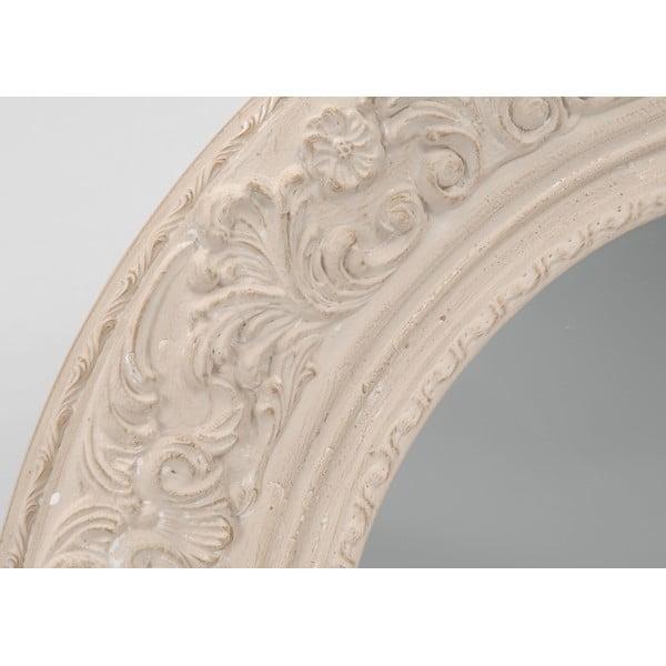 Zrkadlo Cream Round, 100 cm