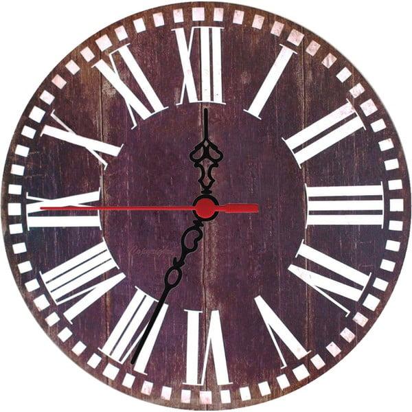 Nástenné hodiny Wooden, 30 cm