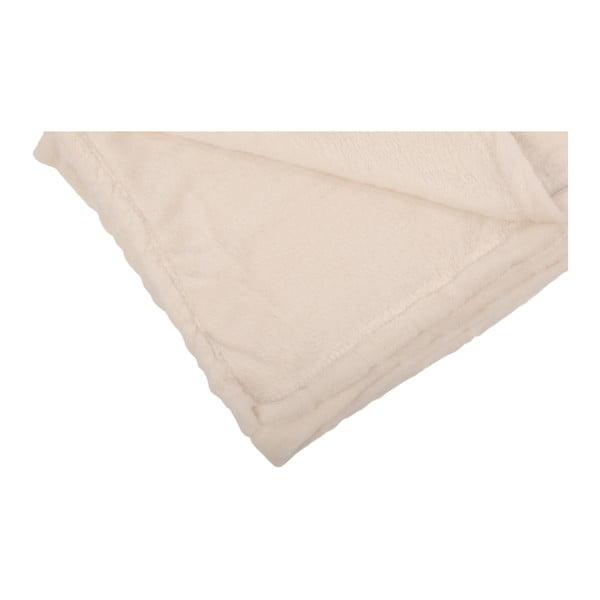 Pléd Softy Cream, 125x150 cm