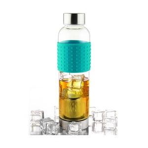 Tyrkysová fľaša na ľadový čaj IT2GO 420 ml