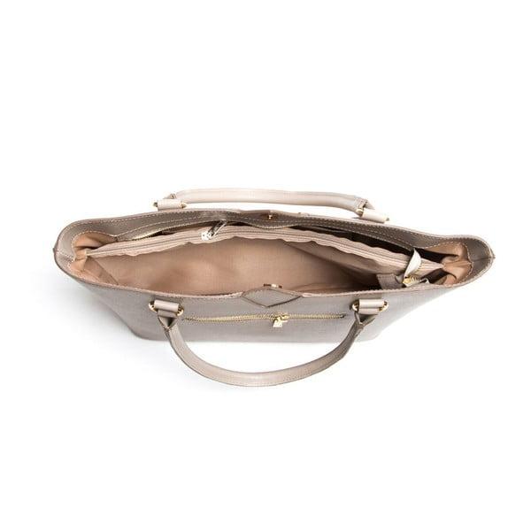 Kožená kabelka Isabella Rhea 440 Fango