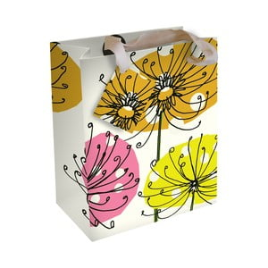 Darčeková taška Caroline Gardner Botanical Yellow
