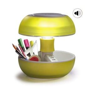 Stolná lampa, nabíjačka a reproduktor v jednom Joyo Light, žltá