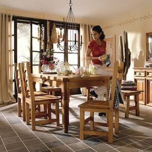 Jedálenský stôl SIT z voskovanej borovice, 170 cm