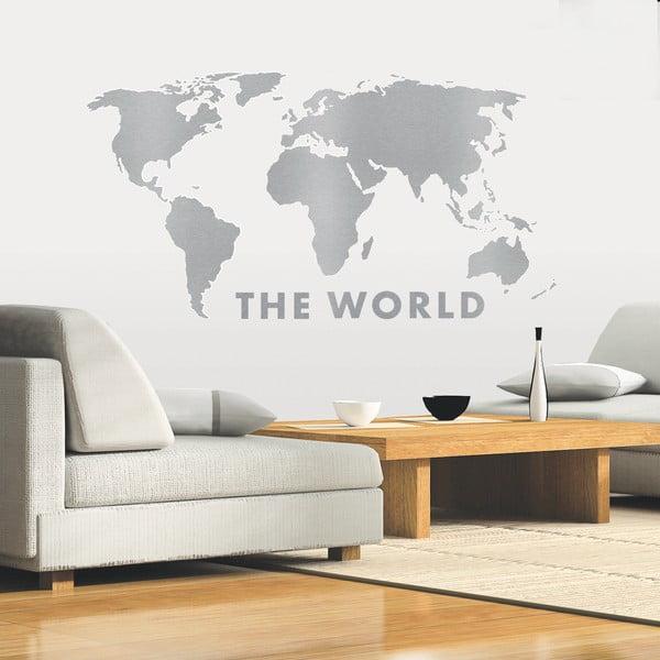 Dekoratívna samolepka Celý svet
